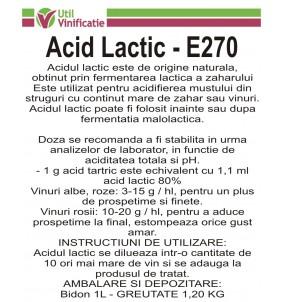 Acid Lactic 1L